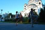 Foto : Letnji seminar kod Hrama svetog Save