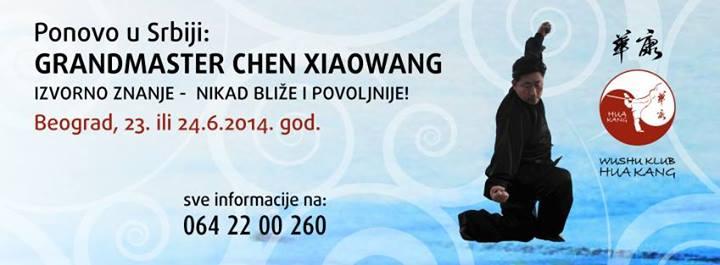 Chen Xiaowang ponovo u Beogradu